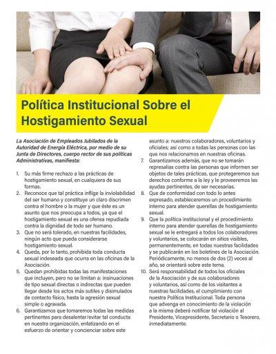Política Hostigamiento Sexual